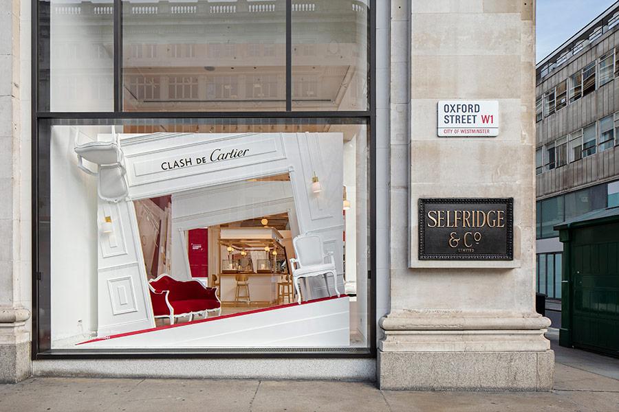 Cartier - Selfridges Window & Pop-Up