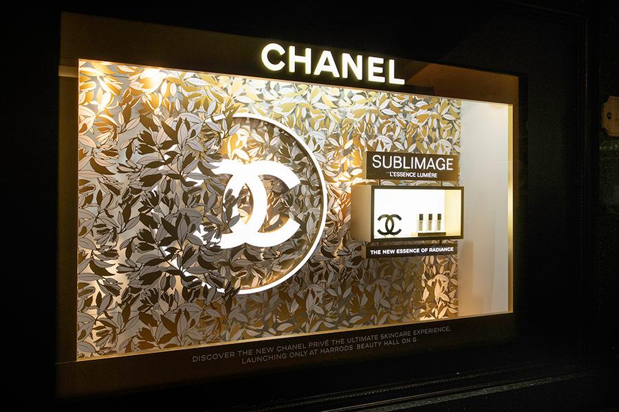 Chanel - Harrods Window
