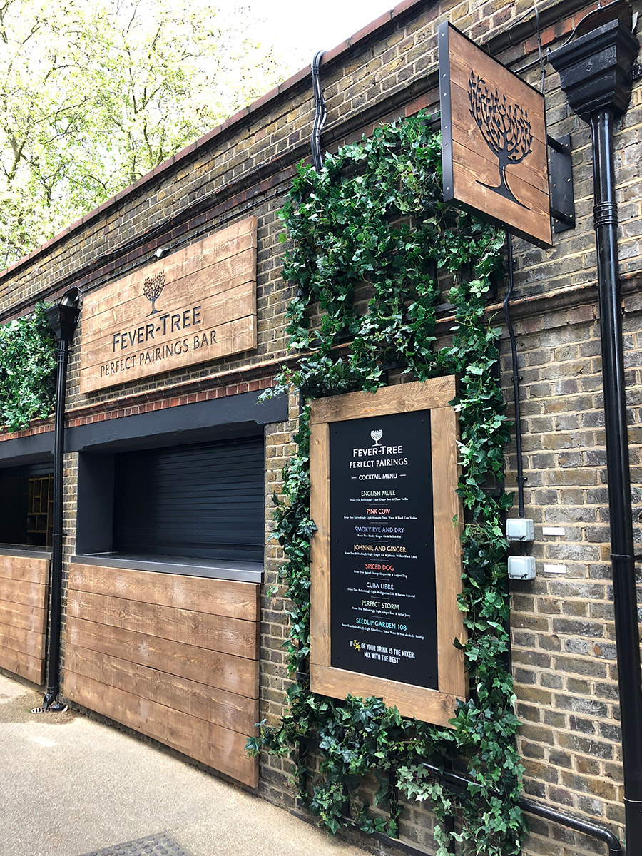 Fever Tree - Lords Cricket Ground