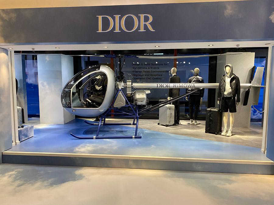 Dior Rimowa - Harrods Pop Up