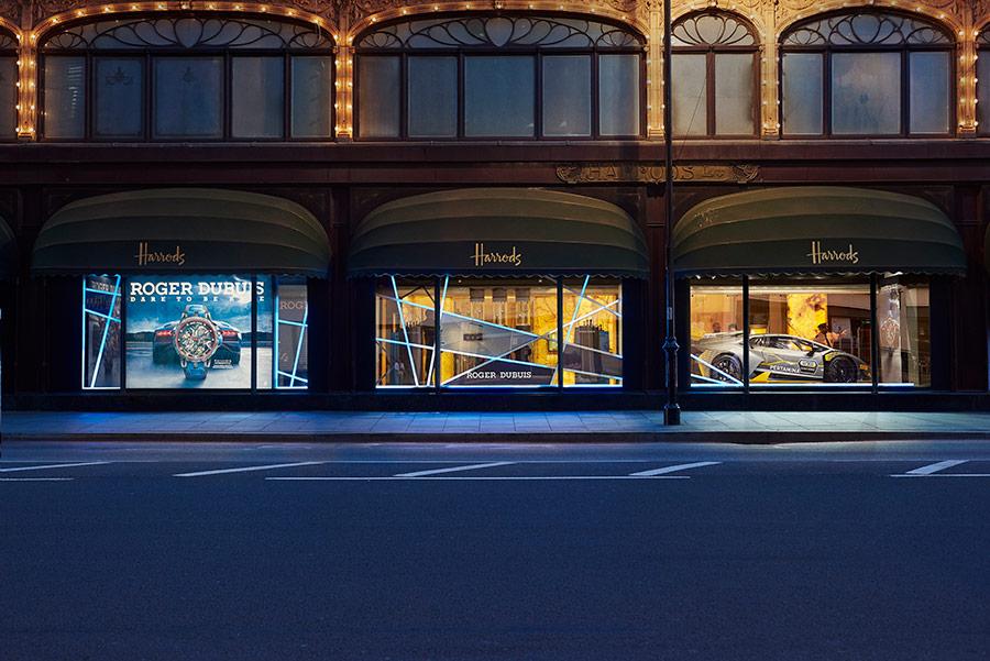 Roger Dubuis - Harrods Exhibition Windows